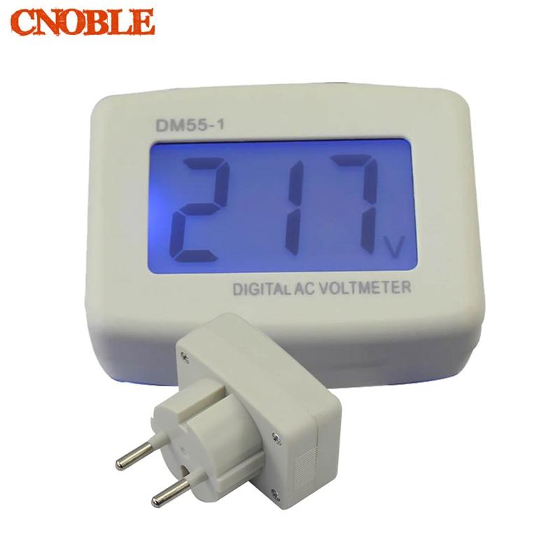 Line Powered Digital Voltmeter : Lcd ac digital voltage meter panel voltmeter v