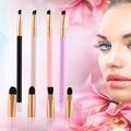 5 Pcs Multifuncional Makeup Brushes Set Punho de Madeira Escova Cosmética Da Sombra de Olho