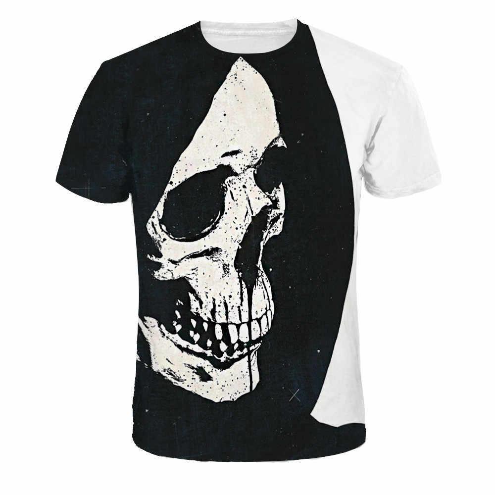 10 различных стилей с принтом черепа футболка для мужчин Slim Fit короткий рукав Moto кран Tete De Mort Homme De Marque