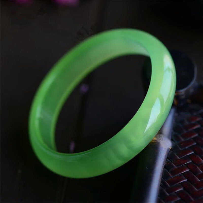 Yu Xin Yuan Natural Delicate Green Grapes Chalcedony Bracelet Send Mother And Girlfriend цепочка на руку yuan xin sona