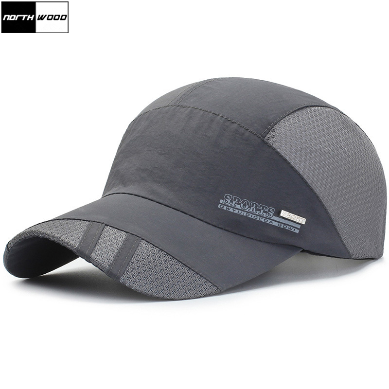 [NORTHWOOD] 2019 New Summer   Cap   Mesh   Baseball     Caps   For Men Women Outdoor Bone Masculino Gorras Para Hombre Trucker   Baseball     Cap