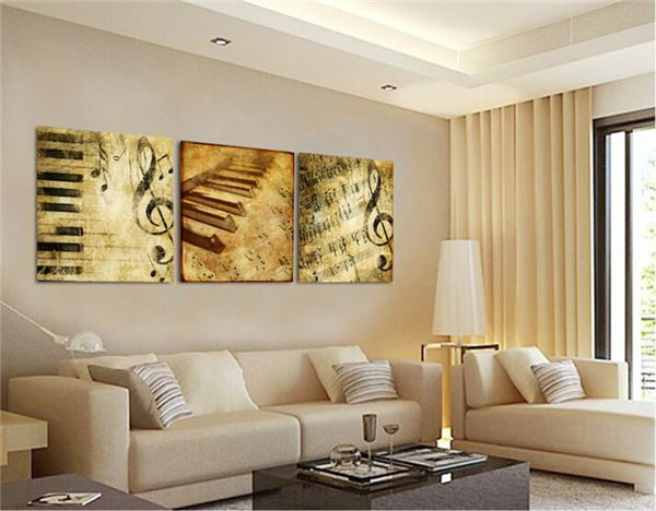Modern Wall Art Home Decoration Printed Oil Painting Pictures Frame ...