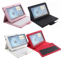 Hot Sale 2 In 1 Removable Bluetooth Keyboard Case For Samsung Galaxy Note 10 1 N8000
