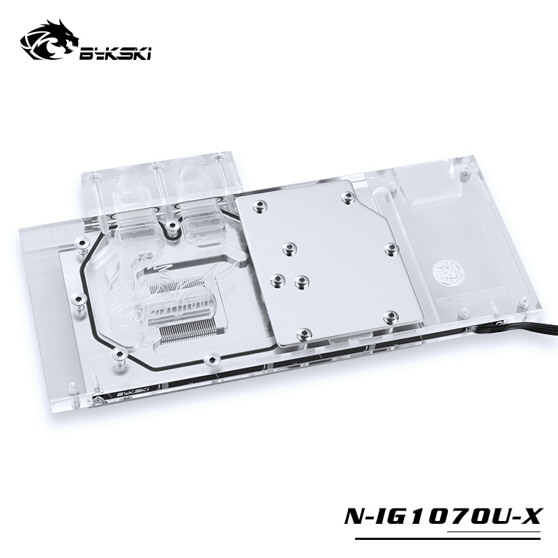 Computer Components Bykski N-gv1060miv2-x Gi Gabyte Gtx1060wf2oc Gtx 1060 Ixoc Full Coverage Pmma Graphics Card Water Cooling Block Convenience Goods Computer & Office