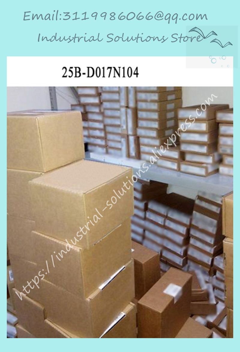 New 25B-D017N104 25B-DO17N104 industrial control frequency converterNew 25B-D017N104 25B-DO17N104 industrial control frequency converter