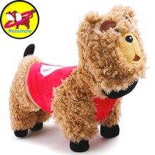 Freeshipping nuevo 2017 perro de mascota ropa caliente del invierno pequeño y grandes abrigos para perros perro oso de peluche trajes 2 color tamaño XXS-L
