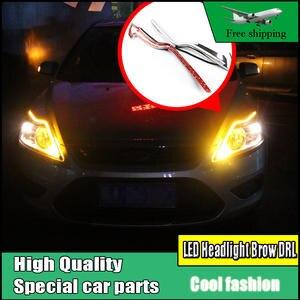 d1b31e064642 Car Styling LED Headlight For Ford Focus MK2 2009-2014
