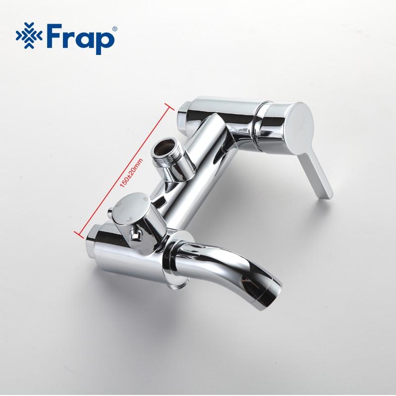Frap nouveauté salle de bains combinaison bassin robinet et robinet de douche mitigeur eau froide et chaude F2416 F1013 - 2