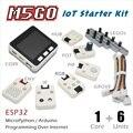 M5Stack официальное предложение на складе! Стартовый набор M5GO IoT ESP32 для разработки программирования Arduino/micropyn IR MIC 600 mAh батарея