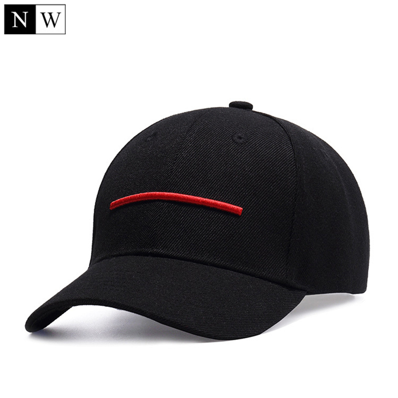 Hat Baseball-Cap Trucker-Cap Snapback-Bone Hiphop Solid Black High-Quality Women Size-55-60cm
