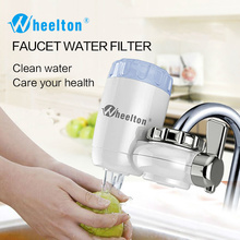 Wheelton Water Filter Faucet 8 Layers Purification Ceramic Activated Carbon&KDF And More Household Kitchen Water Purifier
