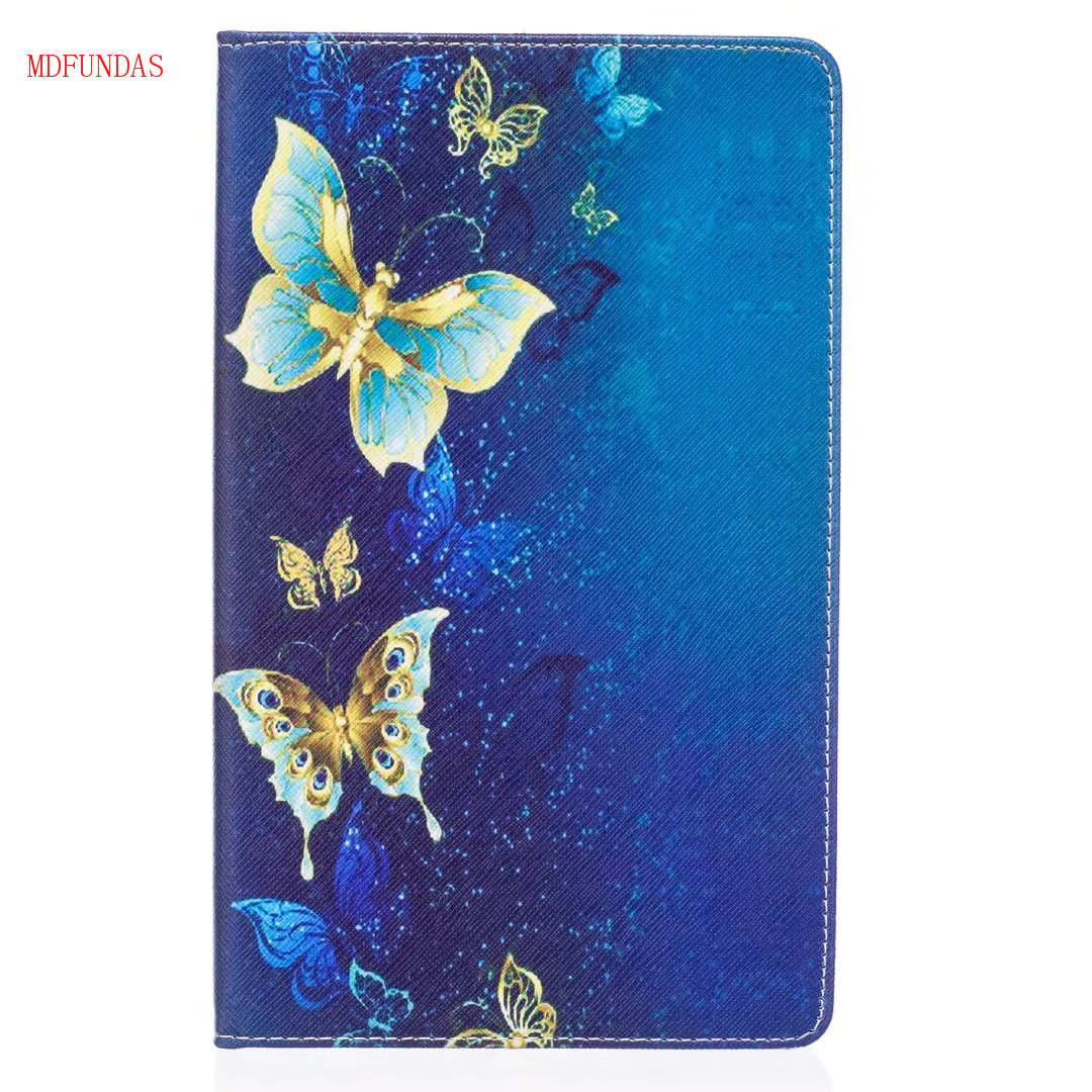 MDFUNDAS For Amazon Kindle New Fire HD 8 HD8 2016 8.0 Tablet Case Flip PU Leather Cover Stand Wallet Bag Coque Ultrathin Funda