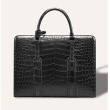 cestbeau Африки импортирует нильский крокодил крокодиловая кожа человек сумка живота сумка пояс украшения кожаный портфель