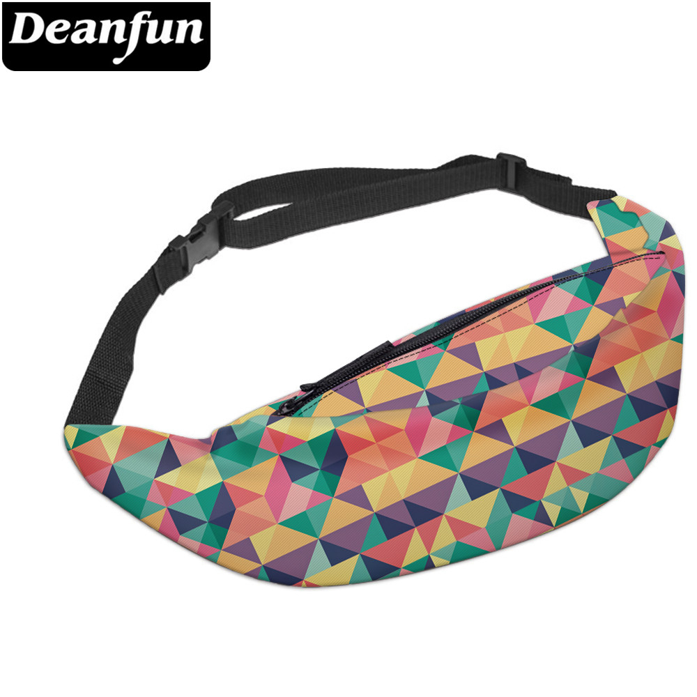 Deanfun Waterproof Colorful Fanny Packs For Women Elegant Waist Pack Girls Bag Bum Bags Gift For Lovers Dropshipping YB-79