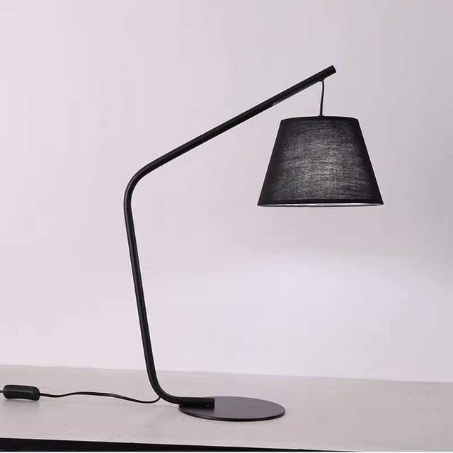 Vente pas chère Lampe de Table en tissu d\'étude moderne ...