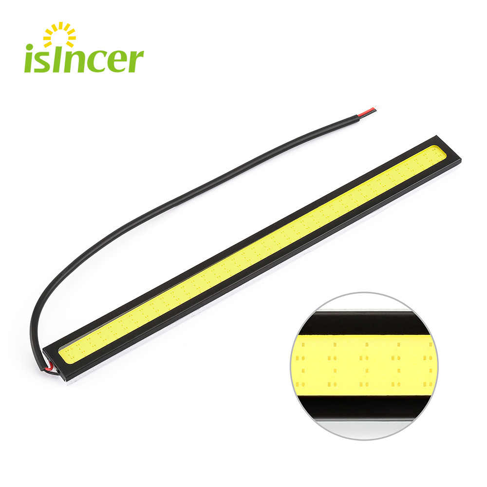1 Piece 17cm COB DRL LED Daytime Running Lights High Quality LED Chips Car Lamp External Lights Auto Waterproof Led DRL Lamp