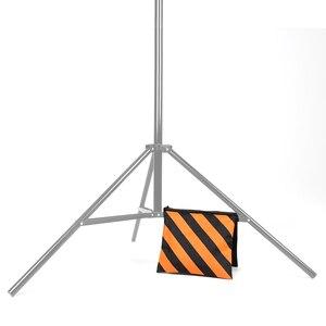 Image 5 - オレンジヘビーデューティー砂袋の写真撮影スタジオビデオステージフィルム土嚢サドル用ライトスタンドブームアーム三脚