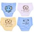 0-12 M Novas Cuecas de Algodão Do Bebê Recém-nascido Do Bebê Roupa Interior de Algodão Calcinhas Calcinhas Das Meninas Crianças Cuecas Curtas Cuecas Infantis