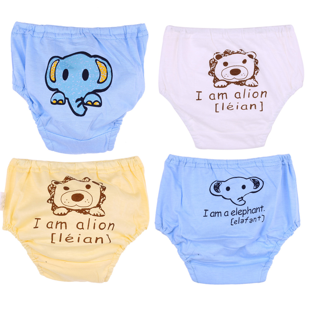 0-12M New Baby Cotton Underpants Newborn Baby Underwear Cotton Panties For Girls Kids Short Briefs Children Underpants