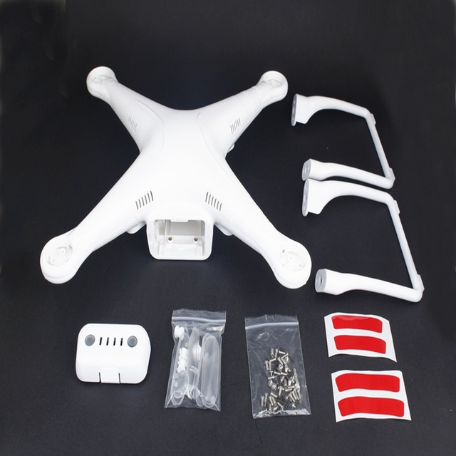 Drone Diy Landing Gear Body Shell For DJI Phtom 2 Vision Cover Parts Upper
