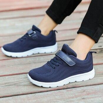 SKHEK 2019 Spring Autumn Children Shoes Boys Girls Sport Shoes Fashion Comfortable Outdoor Breathable Kids Sneakers Size 25-36
