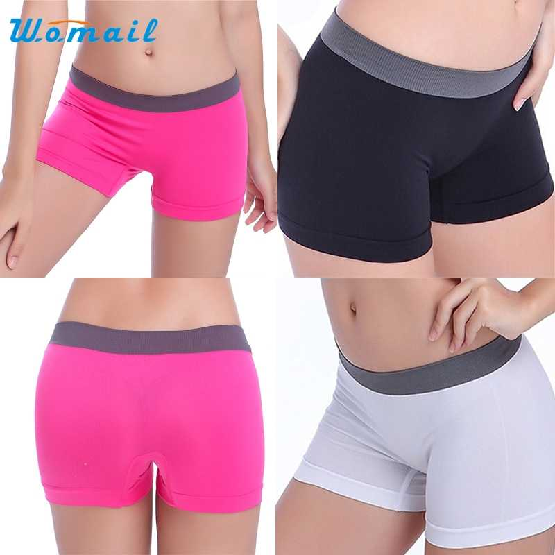 Activing Nieuwe Hot Charmant Zomer Vrouwen Sport Gym Workout Tailleband Skinny Yoga Shorts Broek DEC.7