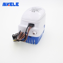 DC12V/24V Automatic bilge 750GPH auto submersible water pump,electric pump for boats accessories marin