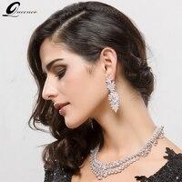 Luxury Cubic Zircon Earrings Water Drop Silver Earrings Trendy Shiny For Women Girl's Birthday Gifts Wedding Jewelry Christmas