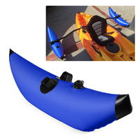 Outrigger Stabilizer Water Float Kayak PVC Inflatable Outrigger for Canoe Fishing Boat Standing Float Stabilizer