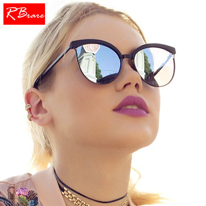 Detail Feedback Questions about RBRARE 2019 Classic Simple Cat Eye  Sunglasses Women Luxury Plastic Sun Glasses Classic Retro Lunette De Soleil  Femme UV400 ... a9feaa803670
