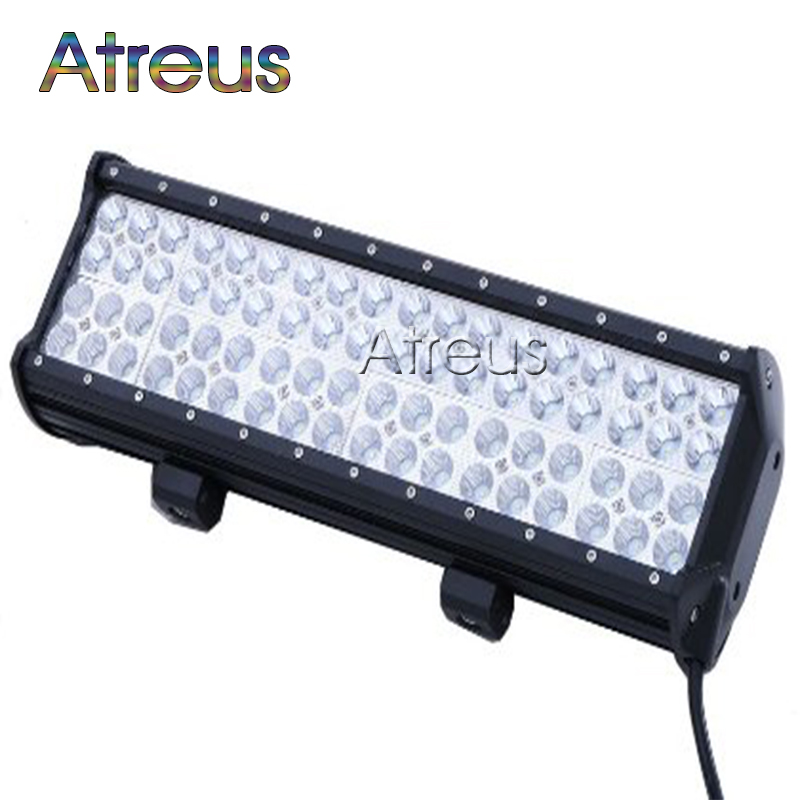 17inch 216w quad row car led light bar 12v 24v spot drl for atv 4x4 truck 4wd offroad trailer. Black Bedroom Furniture Sets. Home Design Ideas