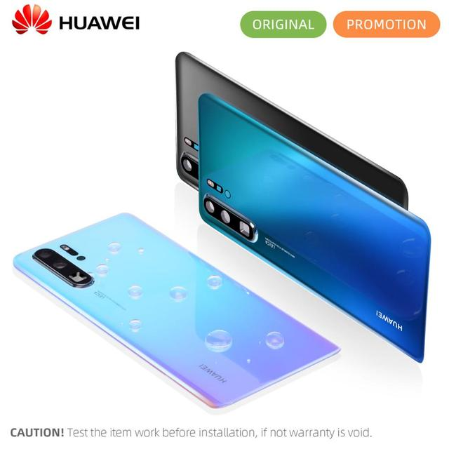 Original Back Housing For HUAWEI P30 Pro Back Cover Glass Battery with Camera Lens Replacement For Huawei P30 Back Battery Cover