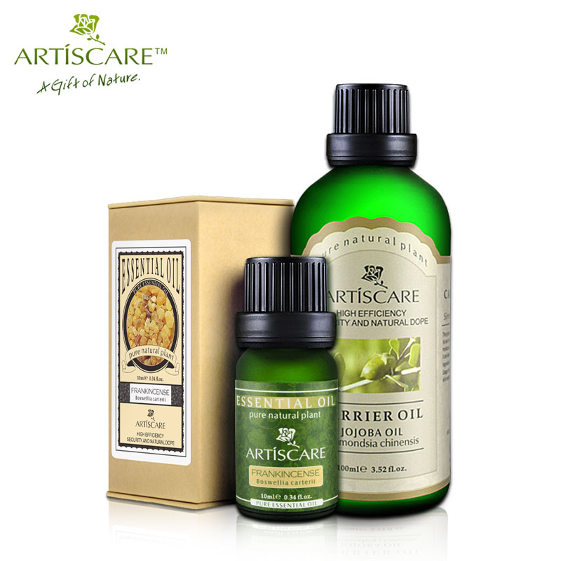 ARTISCARE Frankincense essential oil + Jojoba base oil Skin Care Shrink Pores Anti Aging Moisturizing Anti Chapping Beauty