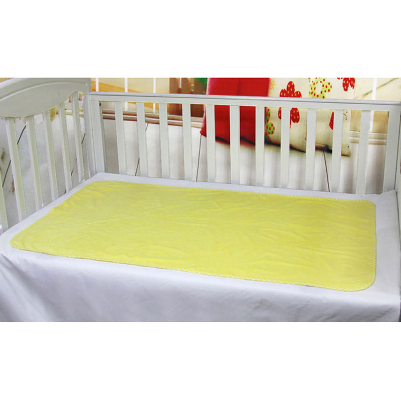 1 Pc Baby Changing Mat Bamboo Pulp Fiber Mattress Breathable Waterproof Pad Solid Color Soft Pads Trq1237