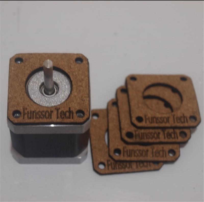 3D Printer NEMA 17 Stepper Motor Damper Isolator Kit for Reprap Prusa Mendel i3