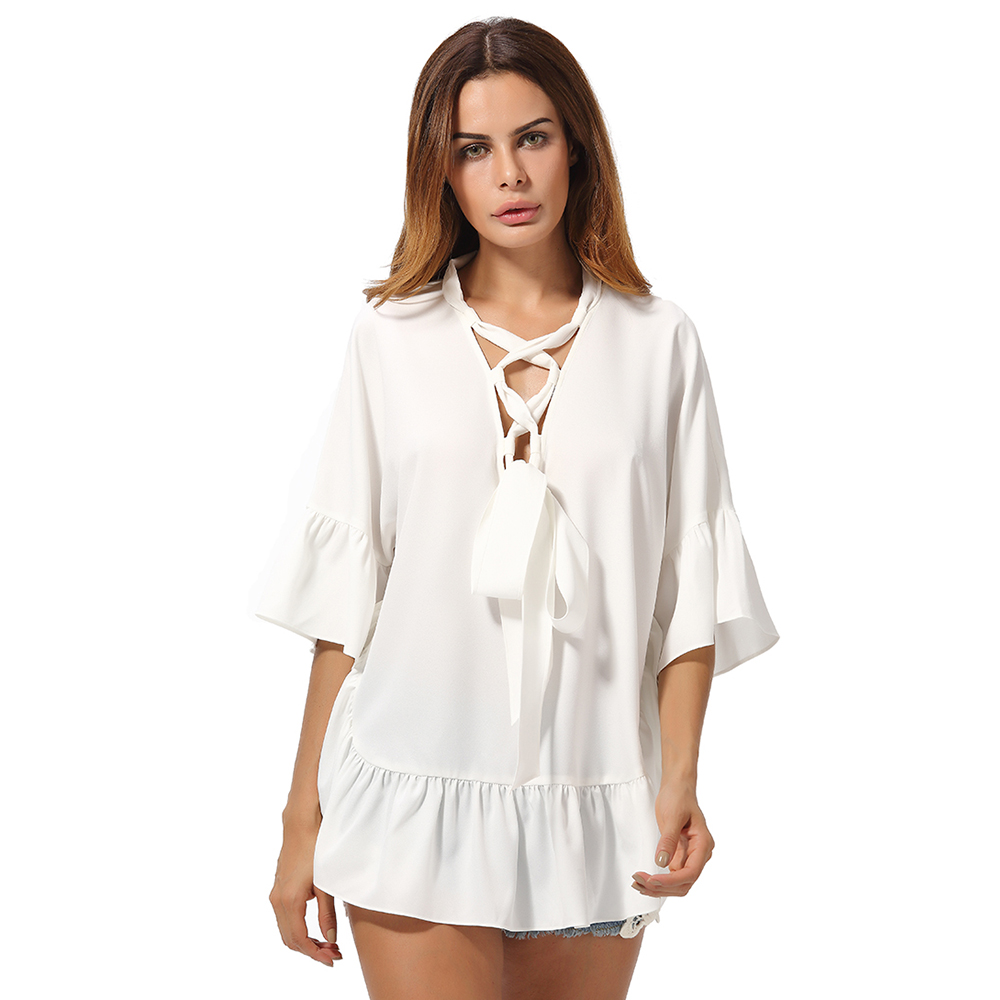 Compare Prices on Neck Strap Blouse- Online Shopping/Buy Low Price ...