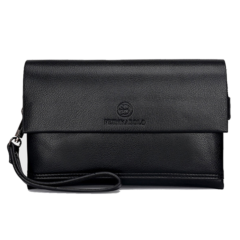 F Brand Wallet Men Clutch Bag Fashion nahast rahakott carteras Meeste käepärane kotid rahakott Business Man Monederos rahakotid