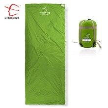 Hitorhike 75 × 190 センチメートルミニ屋外超軽量エンベロープ寝袋超小型サイズキャンプハイキングクライミングスーツ 3 シーズン