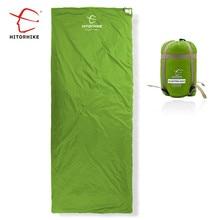 Hitorrise Mini enveloppe dextérieur ultralégère, 75x190CM, sac de couchage pour le Camping, la randonnée et lescalade, 3 saisons