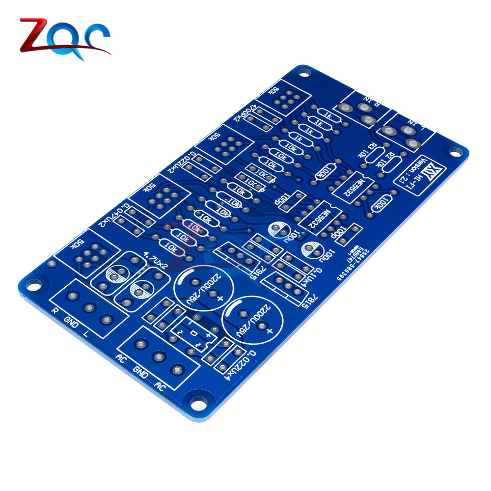 Image 3 - NE5532 Volume Control Audio Power Amplifier PCB Board / DIY Kit Electronic PCB Board Module-in Instrument Parts & Accessories from Tools