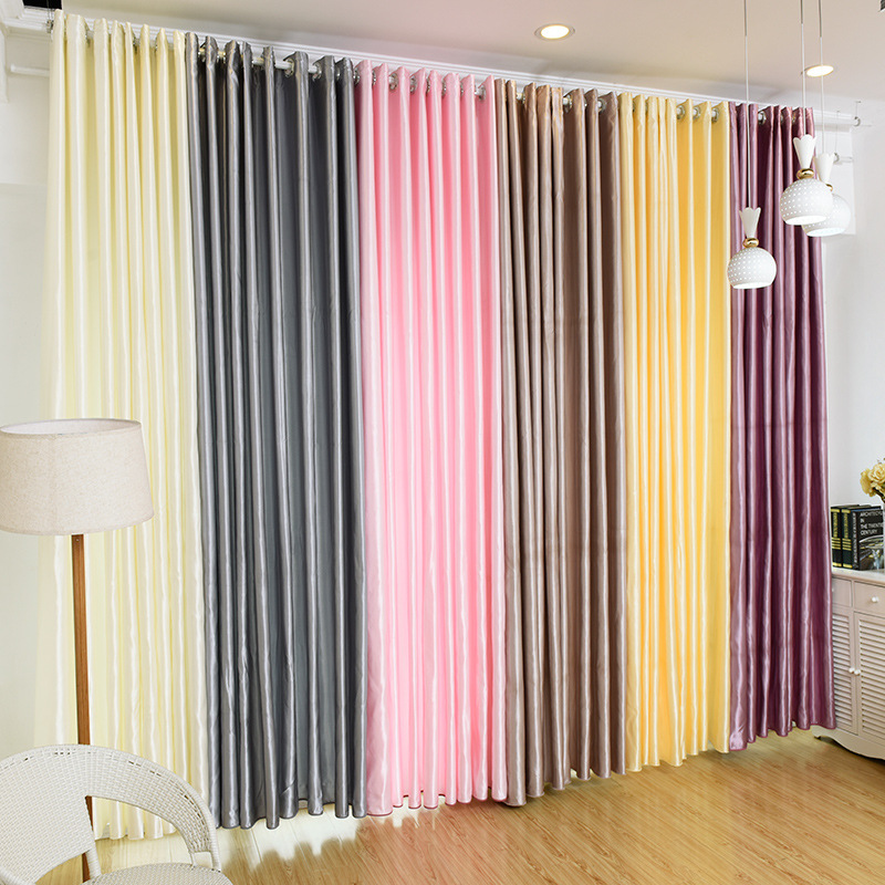 Aliexpress.com : Buy {byetee} Solid Color Curtains For