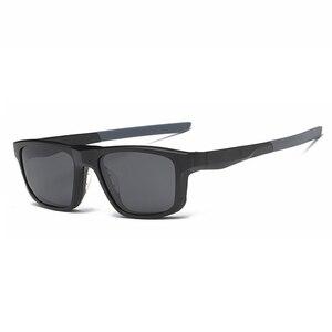 Image 4 - Montura de gafas ópticas para hombre y mujer, con 4 imanes de Clip, gafas de sol polarizadas, montura de gafas para ordenador, YQ333
