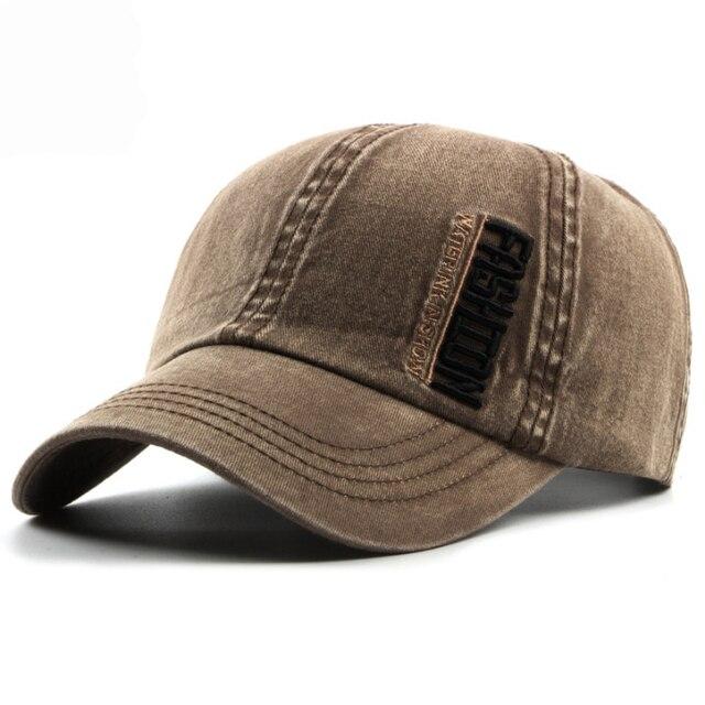 b440c67e1e4 HT1181 High Quality Washed Canvas Baseball Caps Men Women 6 Panels Dad Hats  Embroidery Letters Snapback Caps Black Baseball Hats