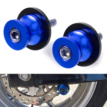 For Suzuki CNC Aluminum Motorcycle parts Swingarm Sliders Spools For Suzuki GSX-R GSXR 600 750 1000 K1 K2 K3 K4 K5 K6 K7 K8 abs plastic front fender fit for suzuki 04 05 gsxr 600 750 k4