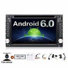 4 ядра 800*480 2 DIN Android 6.0 Fit Nissan Qashqai Tiida Аудиомагнитолы автомобильные стерео Радио GPS ТВ 3 г Wi-Fi DVD Automotivo Универсальный DDR3