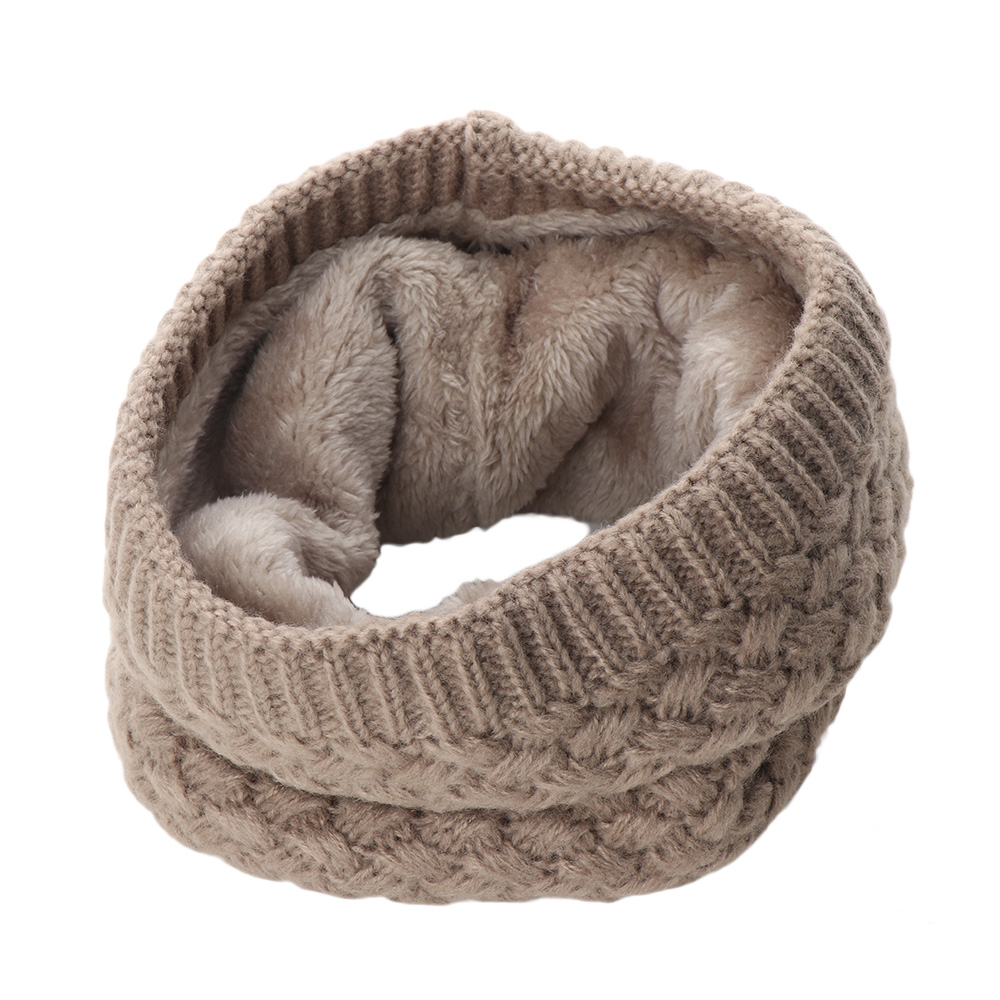 Girl's Accessories Hearty New Style Unisex Winter For Women Men Kids Baby Knitted Fashion Scarf Thickened Wool Collar Scarves Boys Girls Cotton Neck Scarf Cheap Sales Apparel Accessories
