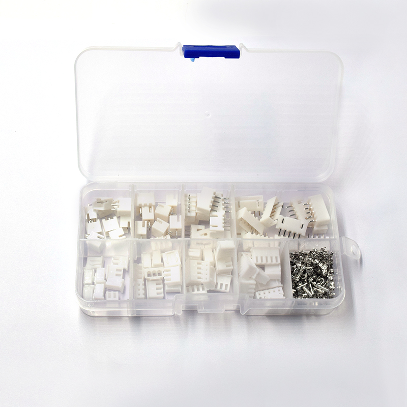 230pcs/lot  2.54mm XH2.54 2p 3p 4p 5pin Connector Plug + Straight Needle + Terminal Socket Header Wire Adaptor