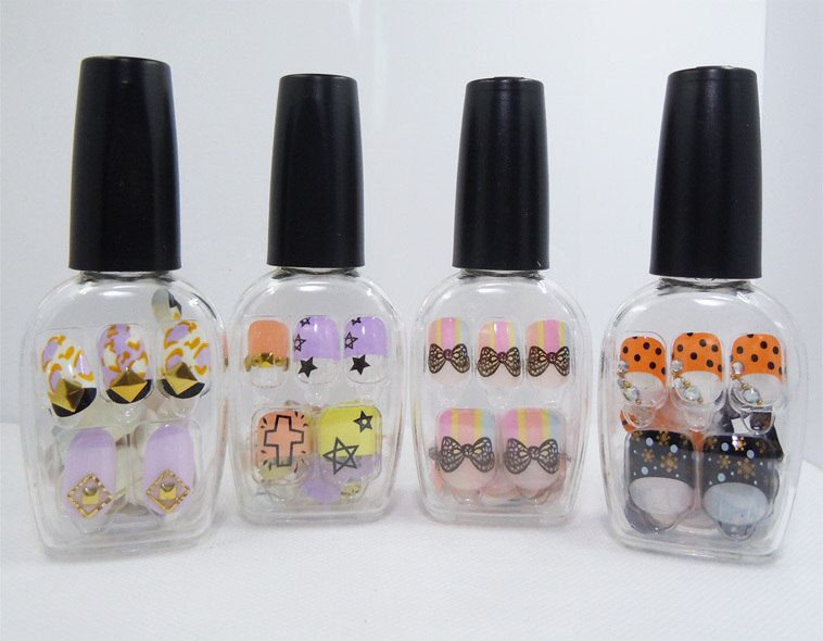 Freeshipping PRESS ON MANICURE BROADWAY NAILS NAIL Patterns Medium ...
