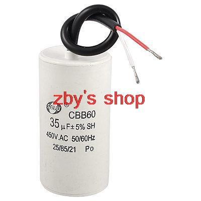 Air Conditioner AC 450V 35uF CBB60 Motor Start Run Capacitor CBB60