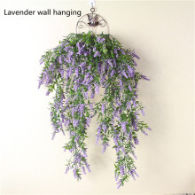 Artificial flower lavender wall painting decoration artificial plastic